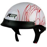Motorcycle Half Helmet Dot