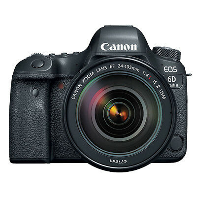 Canon EOS 6D Mark II DSLR Camera with EF 24-105mm USM Lens