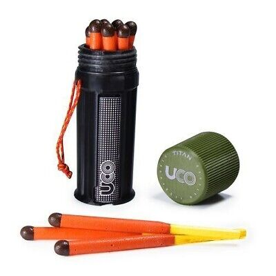UCO Titan Stormproof Match Kit with Waterproof Case, Replace