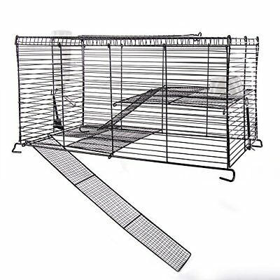Ware Manufacturing Chew Proof High Rise Pet Cage for Small P
