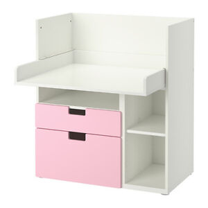 Assembled and hardly used IKEA stuva children's desk