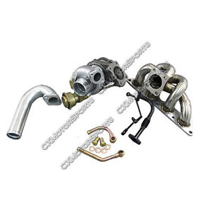 CXRacing TD05H 20G TURBO MANIFOLD KIT For 89-99 ECLIPSE 4G63 4G63T