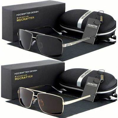 New Polarized Aviator Men Glasses Outdoor Sports Eyewear Dri