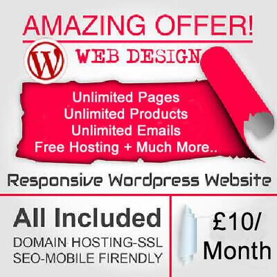 Wordpress Website Design Responsive Website Web Design Just 10month
