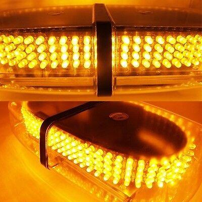 Emergency Flashing Light Bright Amber 240-LED Waterproof Vehicle Strobe Patterns