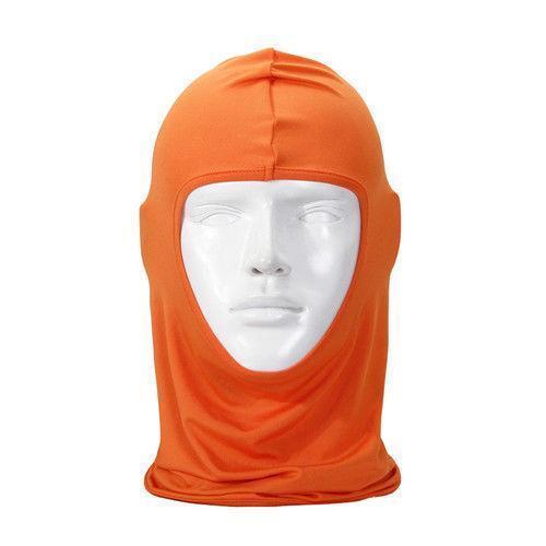 Orange Balaclava Clothing Shoes Amp Accessories Ebay