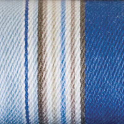 Longaberger Cabana Blue Stripe Sort and Store Small Business Card Stand Up Liner