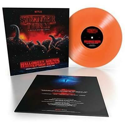 Stranger Things: Halloween Sounds From The Upside Down Orange Vinyl New Sealed](Halloween Sounds)