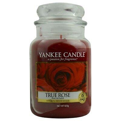 Yankee Candle True Rose Scented Large Jar 22 oz