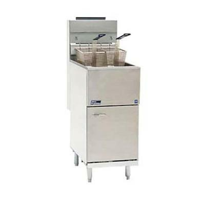 Pitco - 35cs - Frialator 40 Lb Commercial Deep Fryer