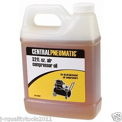 32 OUNCE BOTTLE OF NON-DETERGENT COMPRESSER REPLACEMENT OIL FOR AIR COMPRESSOR