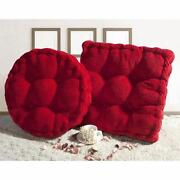 Red Chair Cushions