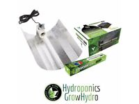 Used, Hydroponics Grow Hydro Lights complete set 600w Ballast Grow Light Kit Hydroponics 600w Bulb. for sale  Chatham, Kent