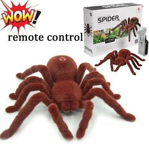 Remote Control Spider Infrared RC Tarantula Toy Kid Gift