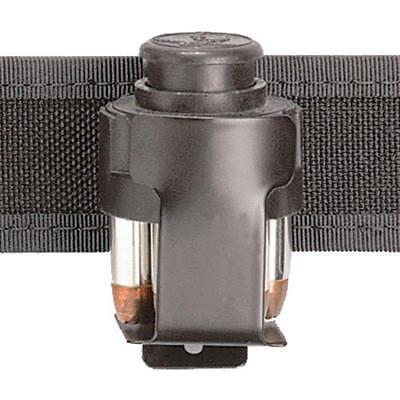 Safariland Cd-2 Black Plain Clip-on Metal Speedloader Pouch Medium Revolver