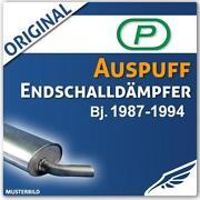 E30 318i Auspuff