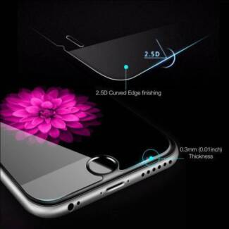 Tempered Glass Screen Protector - iPhone 6, 6S, 7, 8, 6S+, 7+, 8+