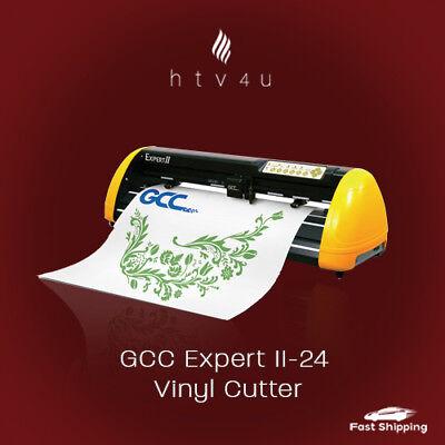 Gcc Expert Ii-24 Vinyl Cutter Free Shipping