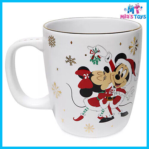 Disney Store Mickey and Minnie Holiday Cheer Mug