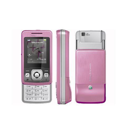 Sony Ericsson T303  Pink  (Unlocked) Retro Sliding Mobile Phone - Warranty