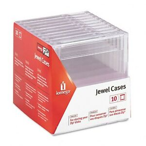 New Box of Jewel Cases for Zip Discs + much more-Lot $5