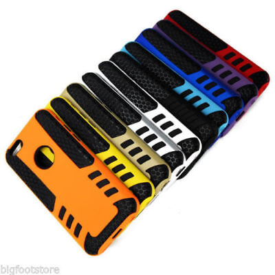 Rubber Armor Hybrid Best Impact Hard Case Cover For Apple iPhone 6  4.7 USA