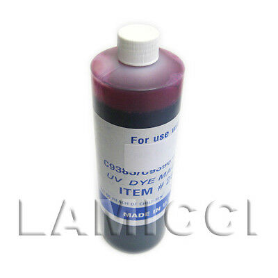 Magenta Pint UV refill ink for CISS HP801 cartridge for HP 3108 8238 Printe, used for sale  Shipping to India