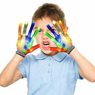 Cool Toys For 9 Year Old Boy (LED Gloves for Kids, Cool Fun Toys for 4 5 6 7 8 9 10 Year Old Boys)