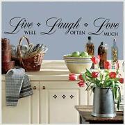 Live Laugh Love Border