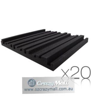 20 pcs Metro 50 x 50cm High density Acoustic Foam Panels