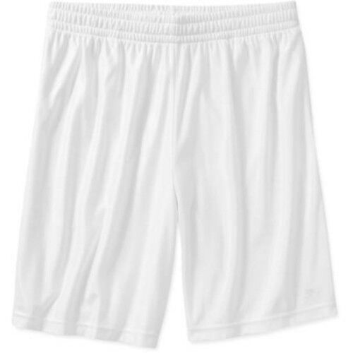 Starter Big Men's Active Dazzle Shorts Arctic White Size 3XL