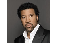 2 Lionel Richie tickets Block 112, Row M next to stage O2 Arena tonight! Wednesday 6th July