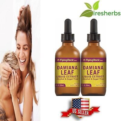 DAMIANA LEAF LIQUID EXTRACT ENHANCE SEX DRIVE SEXUAL PLEASURE SUPPLEMENT 4 FL OZ Damiana Leaf Extract Liquid
