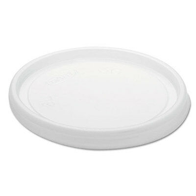 Dart Non-vented Cup Lids F6 Oz Cups 2 3-12 4 Oz Food Containers Plastic Trans.