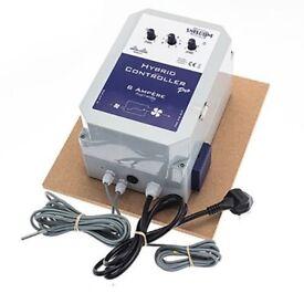 EX DISPLAY - SMSCOM Hybrid Pro SMS Twin Fan Controller 8 amp - HYDROPONICS