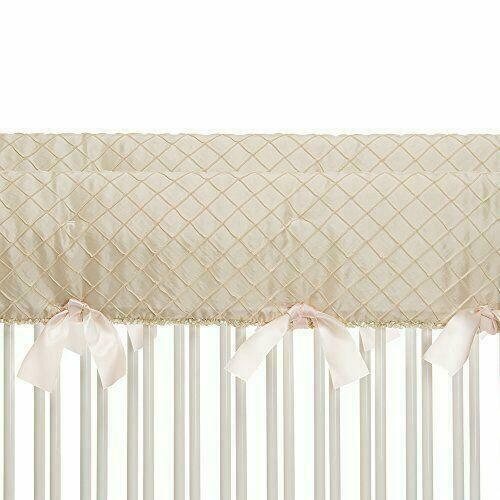 Glenna Jean Contessa Baby Crib Guard Rail Protector Teething Guard Nursery