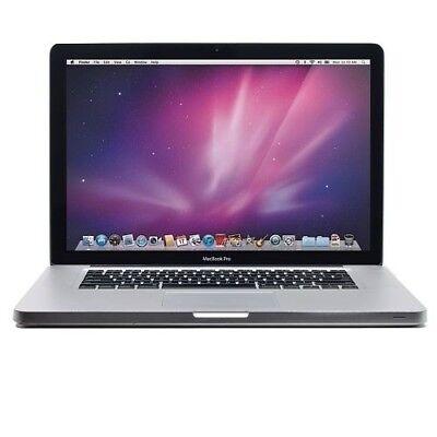 """Apple MacBook Pro 15.4"""" Intel Dual-Core 4GB RAM 240GB SSD Airport Mac MC118LL/A"""