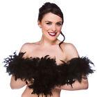 Black Burlesque Costume Boas