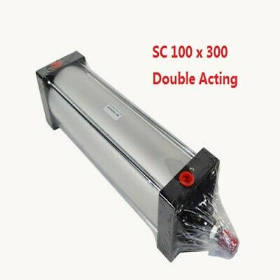 High Quality Double Acting Pneumatic Standard Air Cylinder Sc 100 X 300 Bore 4