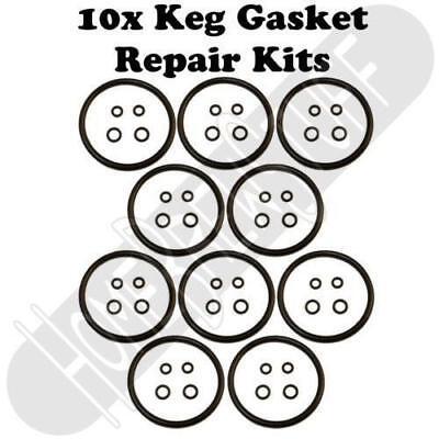 Qty 10 Cornelius Keg O-ring Gasket Seal Rebuild Kit
