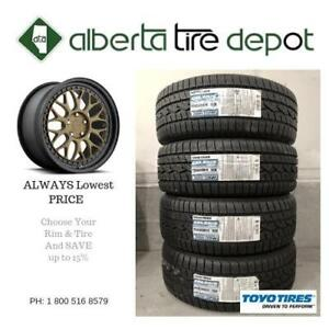 10% SALE LOWEST Price Toyo Tires All Weather 245/45R17 Toyo Celsius Tires Wheels Shipping Available Shop With Confidence