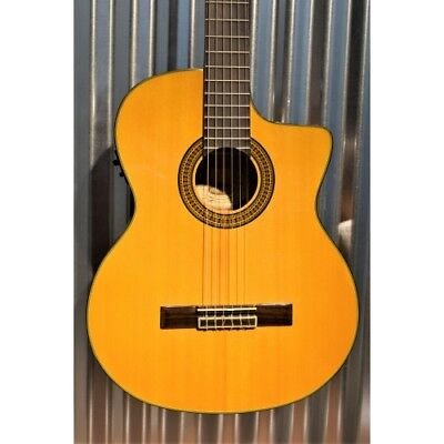 Washburn C64SCE Classical Acoustic Electric Nylon String Guitar & Bag -