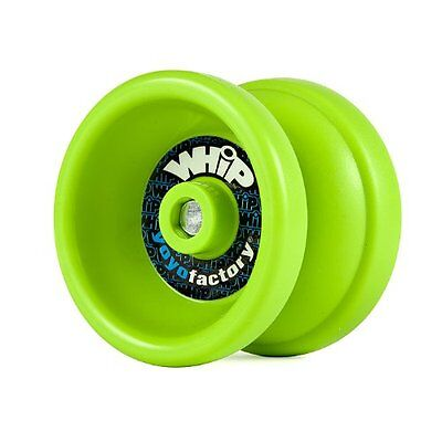 Whip Green Responsive Yo Yo From The YoYoFactory + 3 NEON STRINGS YELL/ORG/GREEN