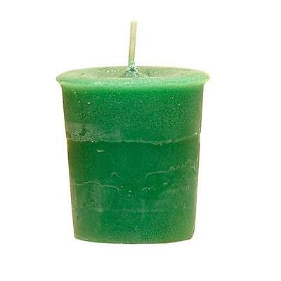 Money - Crystal Journey Votive Herbal Candle