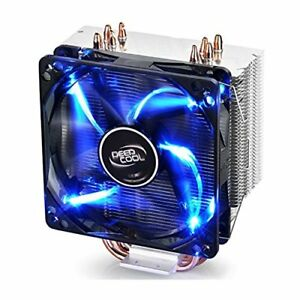 Deepcool Gammaxx 400 CPU Cooler PWM Blue LED Fan (brand new)