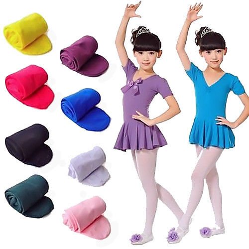 Kinder Strumpfhose Mädchen Feinstrumpfhose Microfaser Tanz Velvet Ballett Socken
