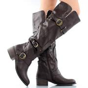 Over Knee Shearling Boots