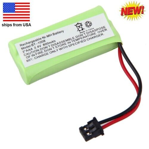 New 2.4V Ni-MH Home Phone Battery for Uniden BT-1008 BT1016 DECT 2060-2 DCX200