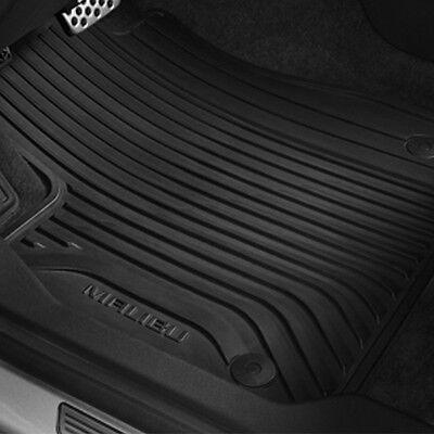 2016 2018 Malibu Genuine GM Front  Rear All Weather Floor Mats Black 84038940