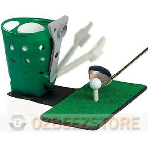 Semi-auto-golf-ball-dispenser-for-practice-and-training-without-Mat